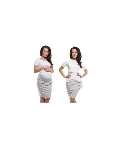Bluzka ciążowa i do karmienia z pęknięciem