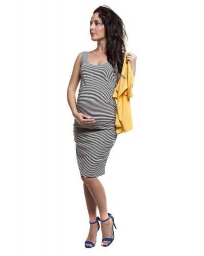 Bluzka ciążowa i do karmienia SUPEŁ długi rękaw