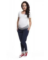 Bluza dresowa golf z supłem ciążowa i do karmienia